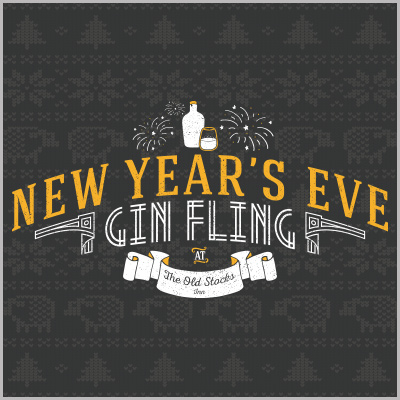 New Years Eve Gin Fling