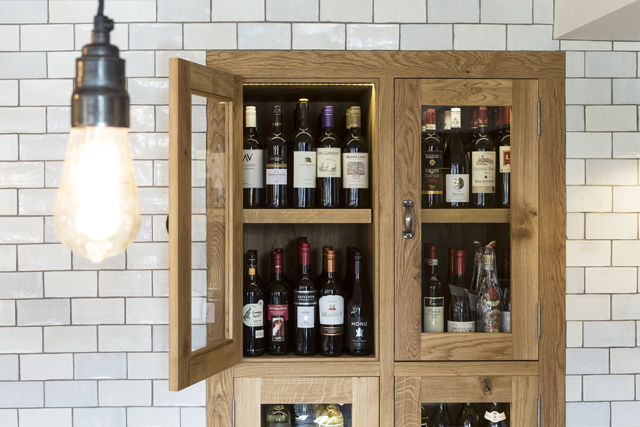 Fine wines at The Old Stocks Inn, Cotswolds