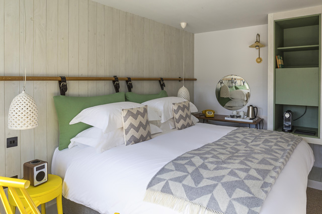 Luxurious hotel rooms, The Old Stocks Inn, Cotswolds