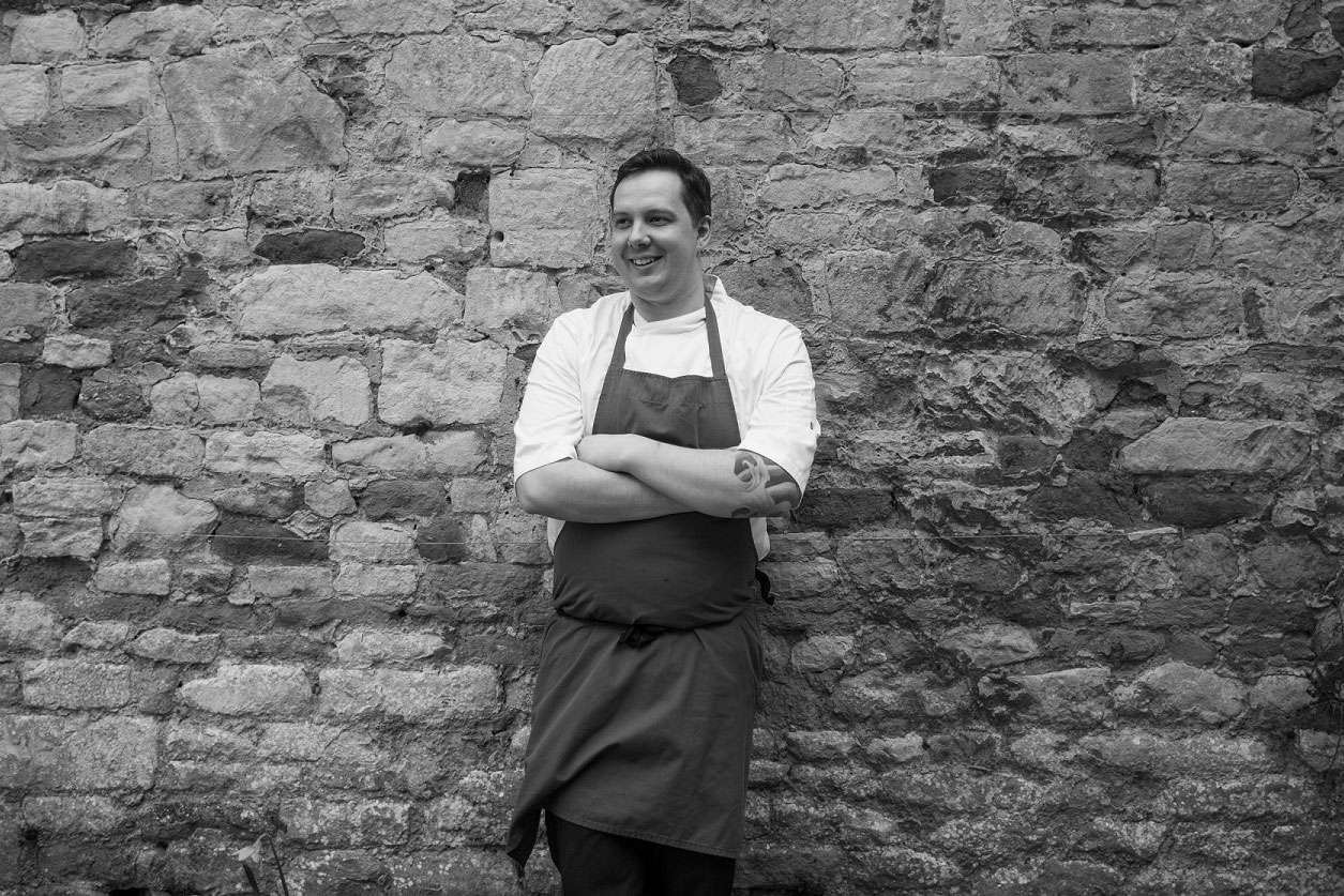Ian Percival, head chef