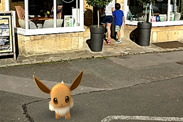 Pokémon Go in the Cotswolds: Old Stocks Inn, Stow