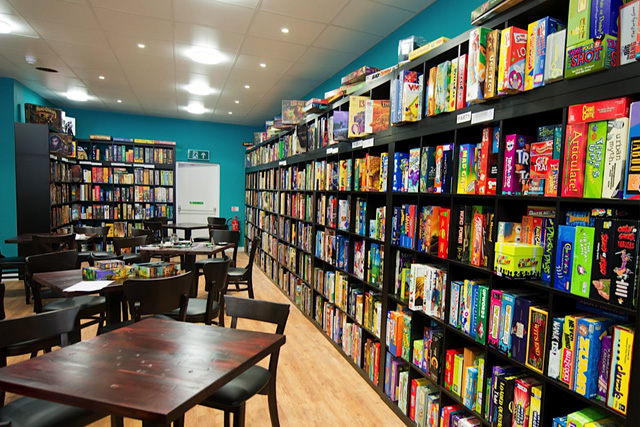 Thirsty Meeples Board Game Café: Cotswold Bucket List, The