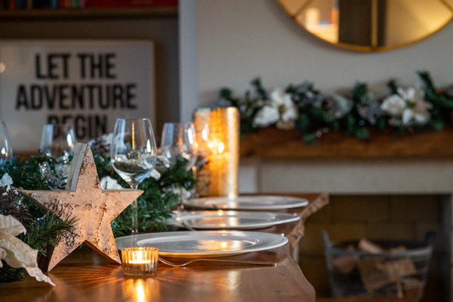 Christmas And New Year in our luxury self-catering cottage, Parsons Barn