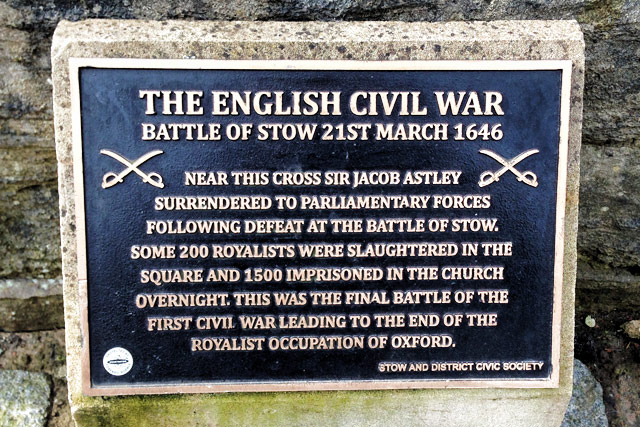 The Battle of Stow, English Civil War, Cotswolds